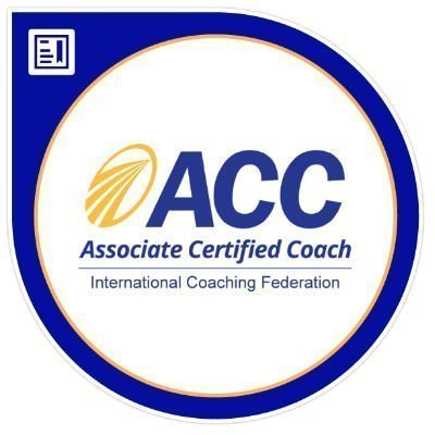 Associate Certified Coach with the ICF