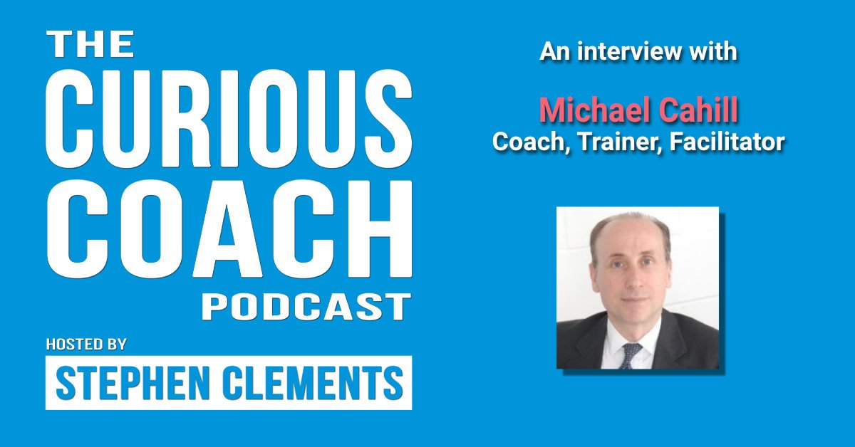 Michael Cahill podcast banner